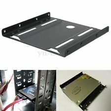 2.5'' to 3.5'' HDD SSD Hard Disk Drive Mount Bracket Rail Adapter Base Cradle