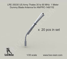 Live Resin 1/35 LRE-35030 Thales 30 to 90 MHz 1 Meter Dummy Blade Antenna