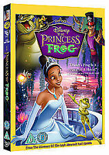 The Princess And The Frog (DVD, 2010) disney