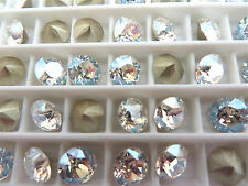 24 Moonlight Foiled Swarovski Crystal Chaton Stone 1088 29ss 6mm