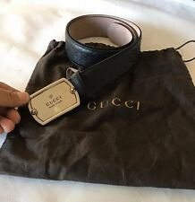 GUCCI New Men's Guccissima Leather Belt 30