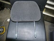 JAGUAR X-TYPE DRIVERS PASSENGERS FRONT CLOTH VELOUR SEUDE HEADREST IN GREY
