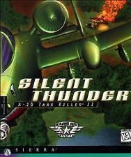 Silent Thunder: A-10 Tank Killer II (PC, 1995, Sierra) in a Jewel case