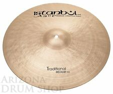 Istanbul AGOP Traditional 22 Medium Ride - 3215g - NEW - In Stock