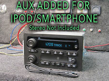 03 04 05 CHEVY SIERRA TAHOE YUKON STEREO RADIO CD Player MP3 SMARTPHONE AUX JACK