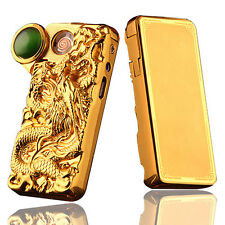USB Electronic Rechargeable Battery Windproof Dragon Cigarette Lighter