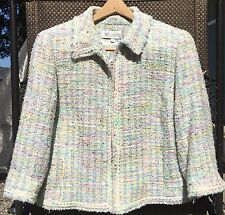 Worth Women's Sparkly Tweed Jacket Blazer Size 16