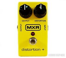 New! MXR M-104 Distortion+ Pedal M104 - Free US 48 2-Day Shipping!