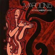 "MAROON 5 ""SONGS ABOUT JANE"" CD NEUWARE"