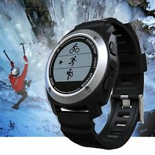Multi Sport GPS Running Watch w/Heart Rate Monitor Waterproof Activity Tracker