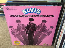 Elvis Presley The Greatest Show on Earth vinyl LP VG+ 1978