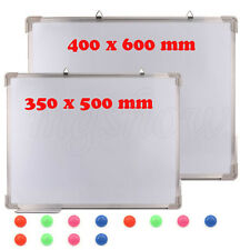 Office School Small Medium Large Magnetic Whiteboard Dry Wipe Drawing Board New