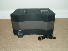 BLACK BOSE ACOUSTIC WAVE MUSIC SYSTEM II AM/FM RADIO - MINT CONDITION!