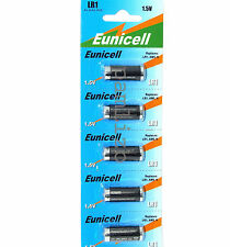 LR1  N size   1.5v   MN9100   E90   Alkaline  batteries by Eunicell  battery x5