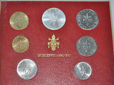 1978 Vatican City Paul VI (XVI Year) Coin Set - Unc