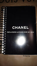HTF AUTHENTIC CHANEL 2011 2012 PRET-A-PORTER AUTOMNE-HIVER RUNWAY BOOK CATALOG