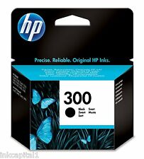 HP No 300 Black Original OEM Inkjet Cartridge For D1660, F4500, F4580