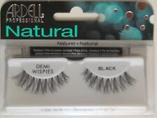 (LOT OF 10) Ardell Natural DEMI WISPIES False Lashes Eyelashes Black Invisibands