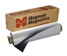 "24"" x 50' Roll Magnum Magnetics 30 Mil. Blank White Sheet - Car, Vehicle Magnets"