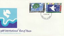 (91901) New Zealand FDC Year of Peace - 5 March 1986