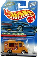 2000 Hot Wheels #144 Virtual Collection Ice Cream Truck mustard 5hole