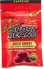 EXTREME CHERRY SPORT BEANS Candy ~ Energizing ~ JELLY BELLY FRESH - 6 PACK