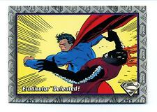 Skybox 1993 The Return of Superman Base Card #84 Eradicator Defeated!