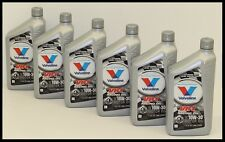 Valvoline 205 VR1 10W-30 Conventional Racing Oil - High Zinc - Case of 6 Quarts