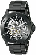 Fossil Men's ME3080 Modern Machine Automatic Stainless Steel Watch - Black
