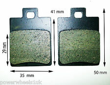 BP005 SET OF BRAKE PADS FOR DIRT / PIT BIKE / QUAD 50CC - 140CC