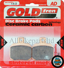 DUCATI 1100 MONSTER 1100S EVO   SINTERED REAR BRAKE PADS *GOLDFREN 152 (FA266HH