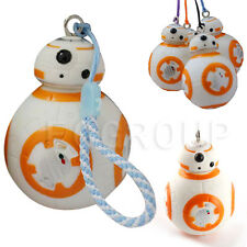 Star Wars Cute BB-8 Robert Rope Keyring Keychain Key Ring PVC Toy Kids Best Gift