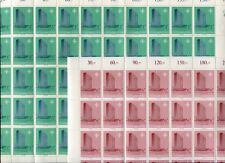 36886a)LUXEMBOURG 1967 MNH** NATO council 2v FULL SHEETS X 5 (250 sets)