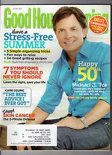 Katie Couric Michael J. Fox Good Housekeeping Magazine June 2011 FREE SHIPPING