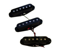 Dragonfire Strat Pure Noiseless Pickup Set of 3, Your Choice of Covers