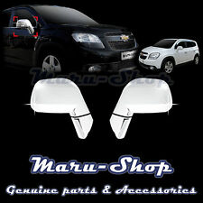 Chrome Side Rear View Mirror Cover Trim for 11~ Chevrolet Orlando