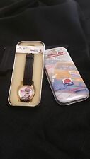 VINTAGE SUN TIME DAVEY ALLISON WATCH IN TIN WINSTON CUP DRIVER SIGNATURE SERIES