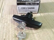 GENUINE CLASSIC MINI BOOT HANDLE IN BLACK CXB101260PMD AUSTIN ROVER