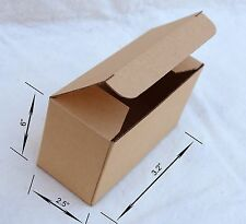 "200~ 6x2.5x3.2"" Cardboard Boxes Mailer Sunglasses etc Gift Ware Packing Mailing"