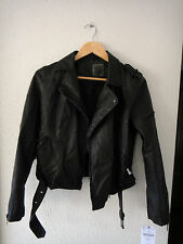 Cazadora perfecto polipiel negra Zara // Zara faux leather black biker jacket