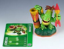 Skylanders Giants Zook Figure Loose w/ Trading Stat Card