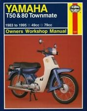 Yamaha T50 and 80 Townmate Owners Workshop Manual (Haynes Owners Workshop Manual