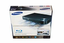 Samsung BD-F5700 Blu-Ray/DVD Disc Player Built-In Wi-Fi Black VG In Retail Box