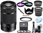 Sony E 55-210mm F4.5-6.3 Lens E-Mount Cameras (White Box)!! Pro Bundle!! New!!