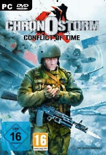 ** CHRONOSTORM * CONFLICT OF TIME *  STRATEGIE-SPIEL  PC DVD-ROM