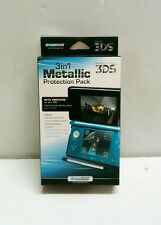 DreamGear 3 in 1 Metallic Old 3DS Metal Travel Case Screen Protector Stylus