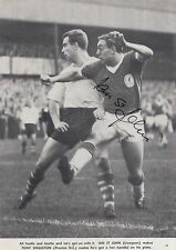 IAN ST JOHN HAND SIGNED LIVERPOOL MAGAZINE PHOTO.