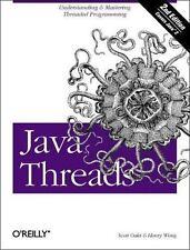 Java Threads (Java Series), Wong, Henry, Oaks, Scott, 1565924185, Book, Acceptab