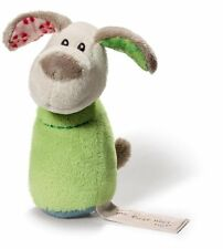 My First Nici Baby Greifling + Rassel Hund Fino 11cm Plüsch 30° Geschenk R 37870