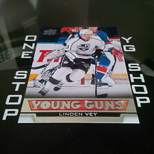 2013 14 UD YOUNG GUNS 465 LINDEN VEY RC MINT/NRMNT +FREE COMBINED S&H